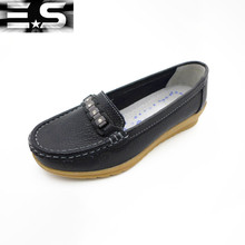 Wholesale manufacturer women genuine leather shoes