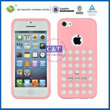 2014 High Quality Mobile silicone case cover for apple iphone 5
