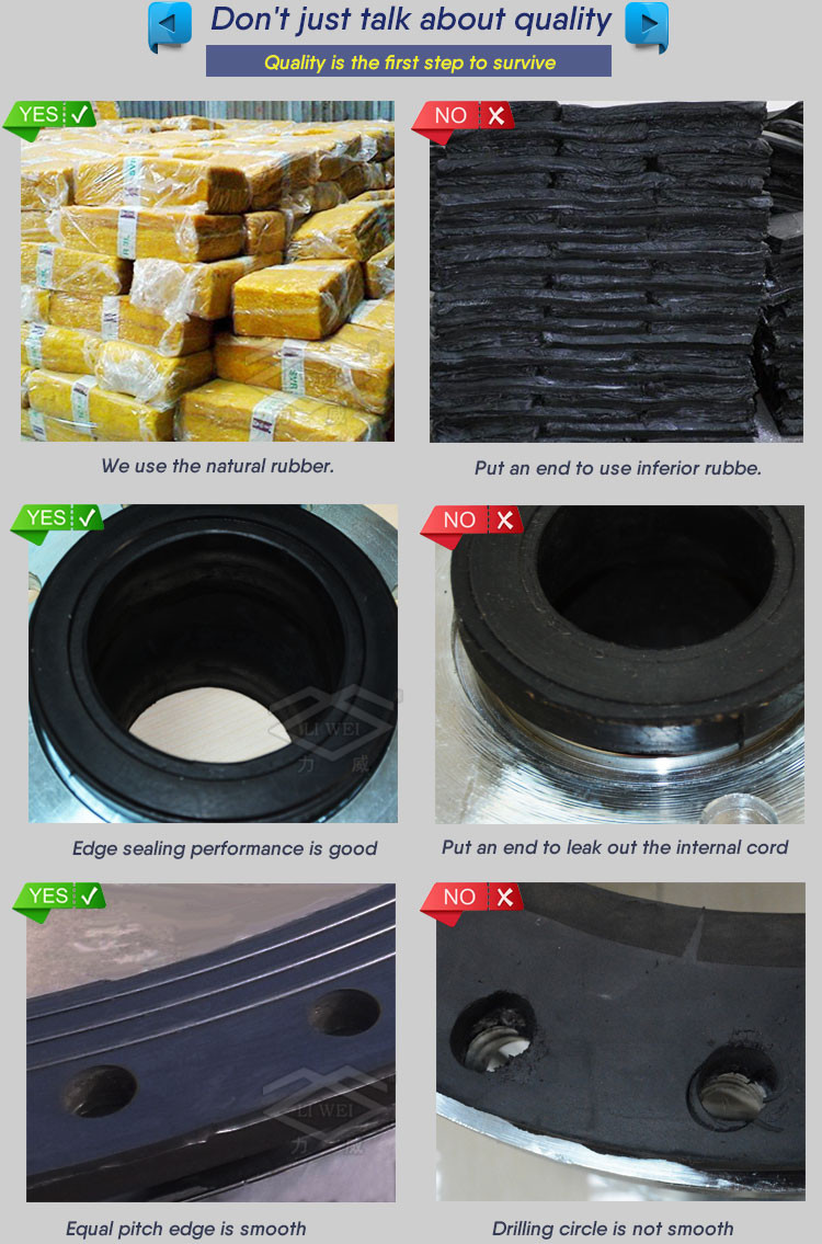 China Manufacturer Multiple Arch Rubber Reducer