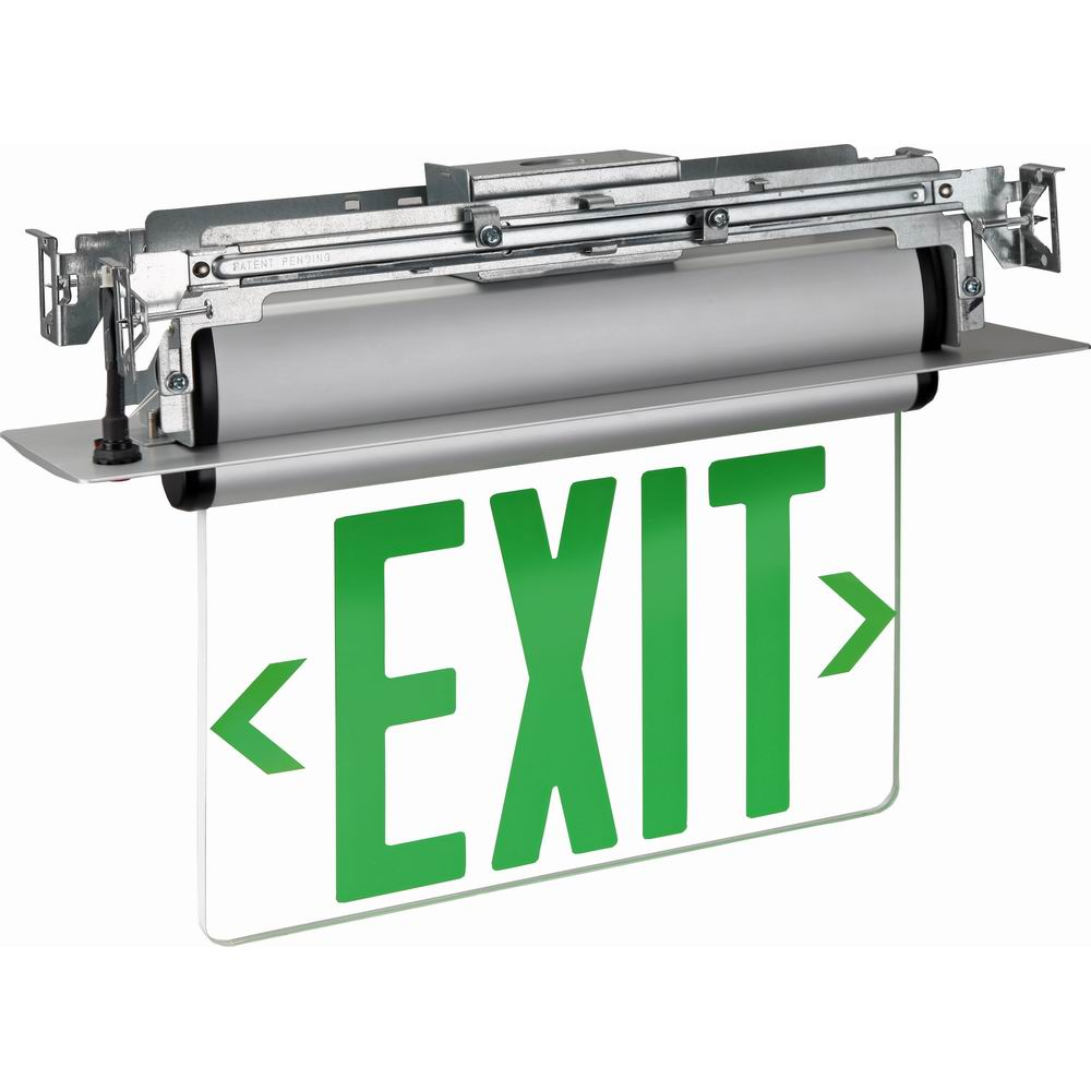 Chinese Double Sides Led Exit Sign Customized Double Sided Led Exit Sign