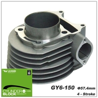 High quality big bore scooter cylinder kit for GY6 150 58.5MM.61MM,63MM