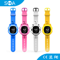 "MTK6261D 3 Day Standby 0.67"" OLED SOS GPS Phone Smart Watch Kids GPS Watch"