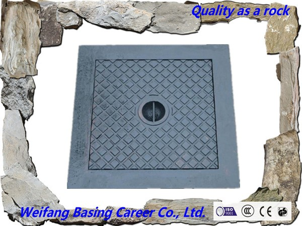 Square Manhole Cover Without Pressure Sanitary Manhole