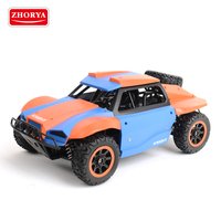 Zhorya 2.4GHZ 25 km/h super cool high speed rechargeable battery-powered rc ghost racing car