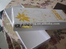 2012 perfect decorate and best price luxury wholesales gift box
