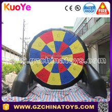 2016 china hot sale inflatabl football dart soccer game