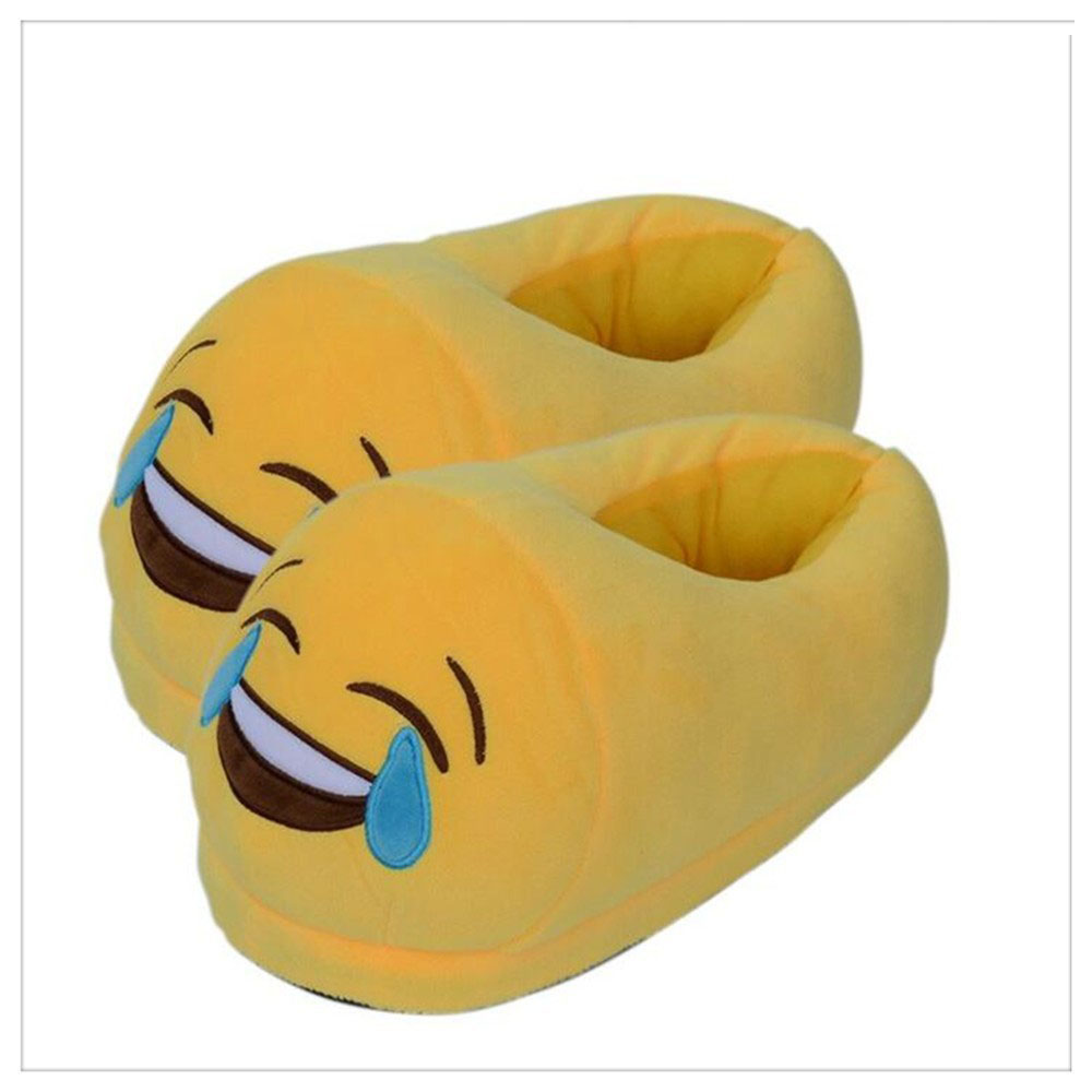 Winter Warm Plush Emoji Indoor <strong>Slipper</strong>