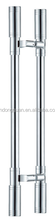 DG-6009 commercial polished door pull handle with connection