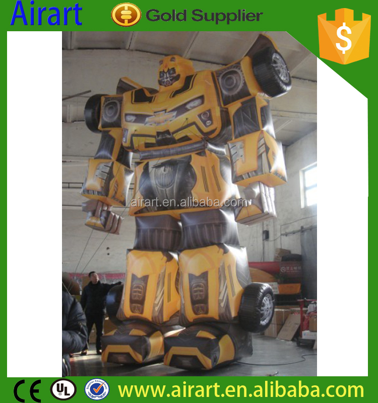 customized cartoon character inflatable optimum prime