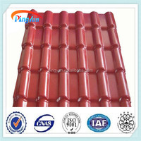 pvc plastic light structure roof design roofing tile / synthetic resin roof tile