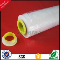 high qulality Soft Hardness and Transparent Transparency 23 mic stretch film with hand