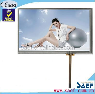 "7"" tft lcd baby monitor WVGA 800*480 dots with TCON(control board) & without TP TFT touch screen"
