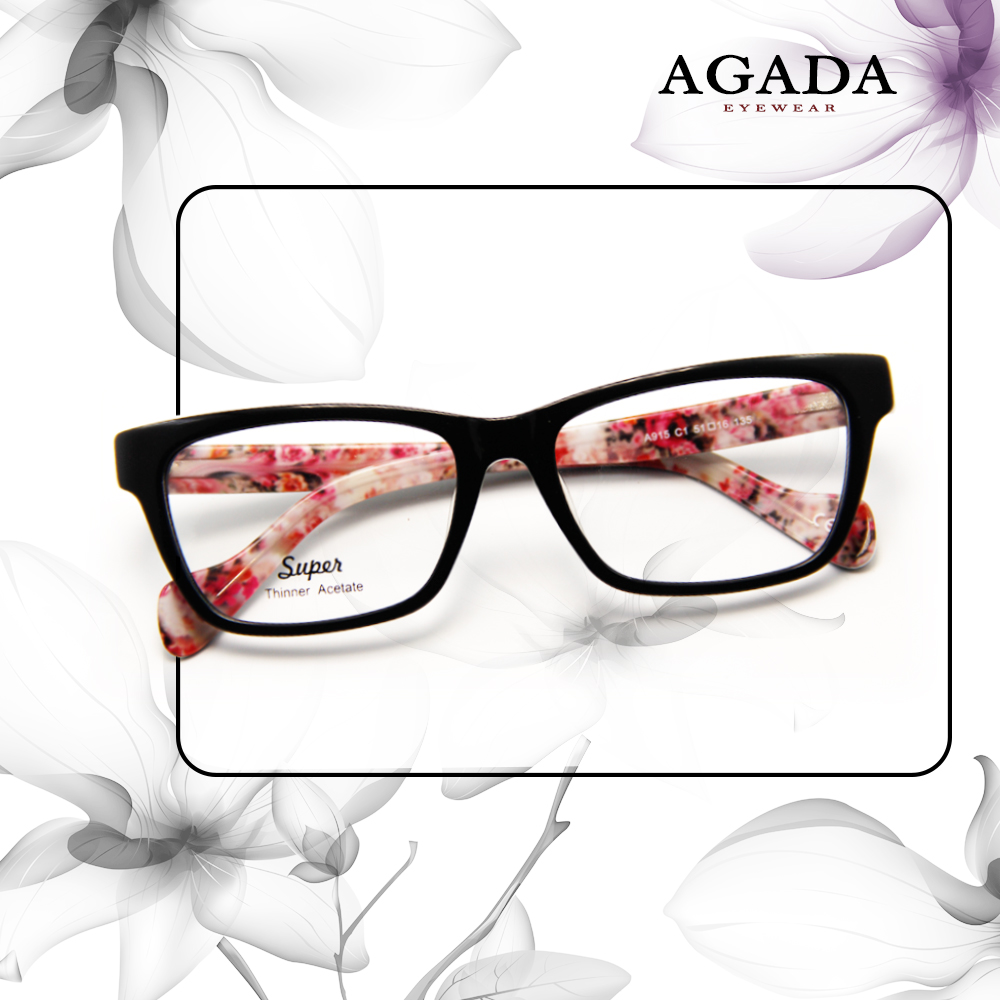 Reliable Quality New Trending Super Thinner Acetate transparent spectacle frame