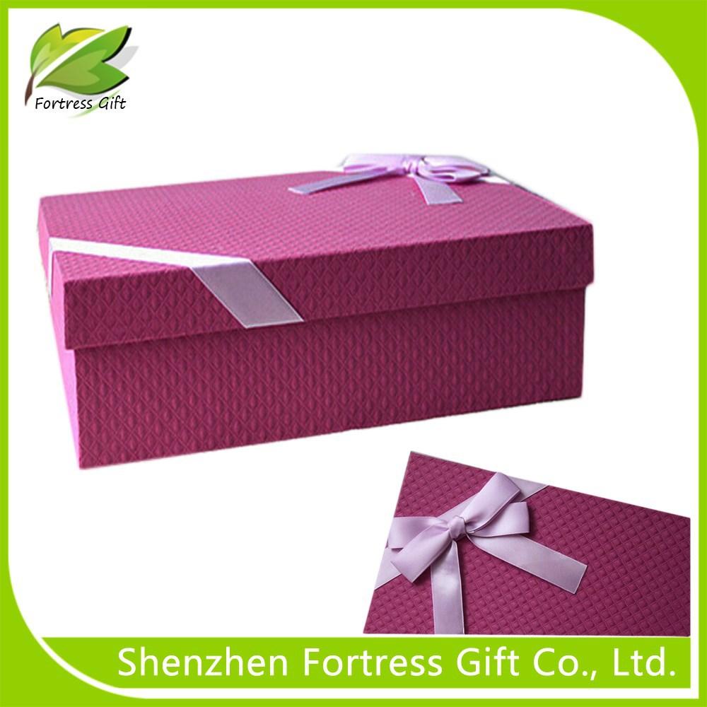 Коробка от обуви для подарка 700