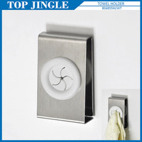 Bathroom Wall Adhesive Metal and Plastic Towel Holder