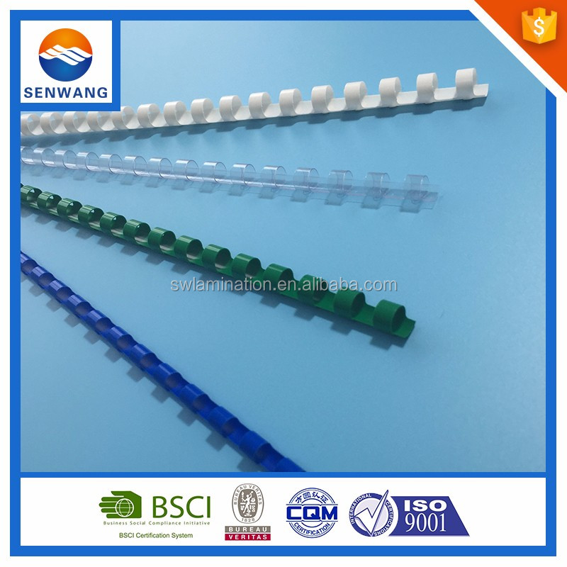 Promotional Document Binding Comb Spiral Wire