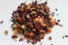 Delicious Chinese fruit black tea, fruit blending, fruit infusion