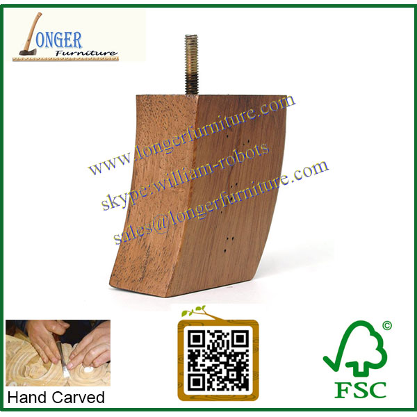 Utilis meubles pieds sofa en bois pied de meuble en bois - Pied en bois pour meuble ...