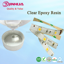 Yellow Resistance Flexible Soft Clear Epoxy Resin Glue for LED Strip