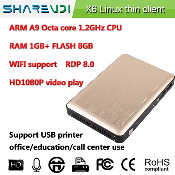dual ethernet thin client