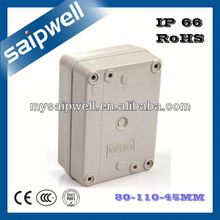 2014 80*110*45mm Flush Mounted Junction Box