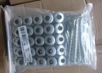 4.0*90mm HI-Q Rubber Washer Roofing Nail