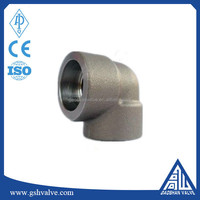 90 Degree Forged Carbon Steel Socket