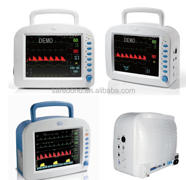 Hot Sale Medical Equipment 12.1 inch Multi Parameter Patient Monitor