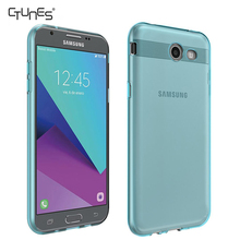 For Samsung J3 Eclipse Cover,Soft Crystal Clear Transparent TPU Slim Anti Slip Shockproof Case Cover For Samsung Galaxy J3 Eclip