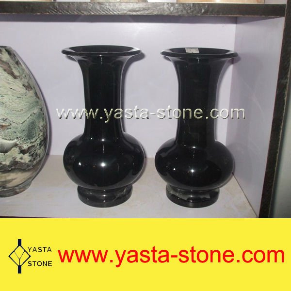 Natural marble antique flower vases