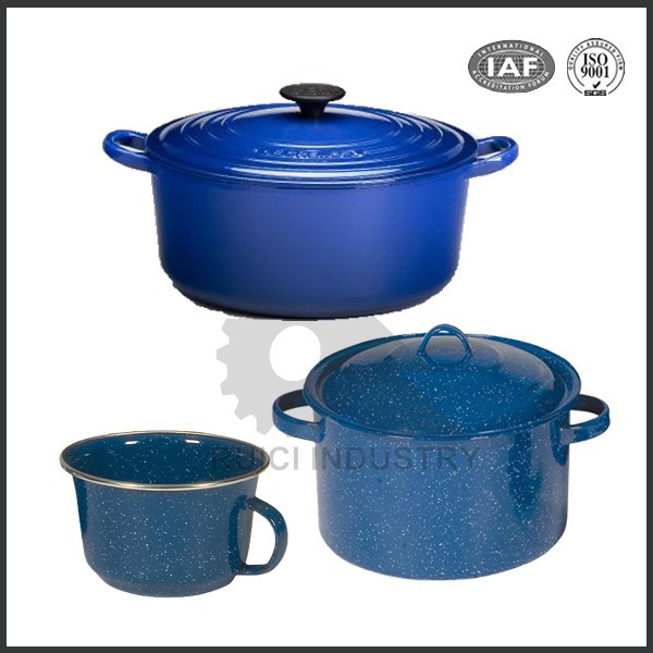China manufacturer enameled cast iron sauce pans