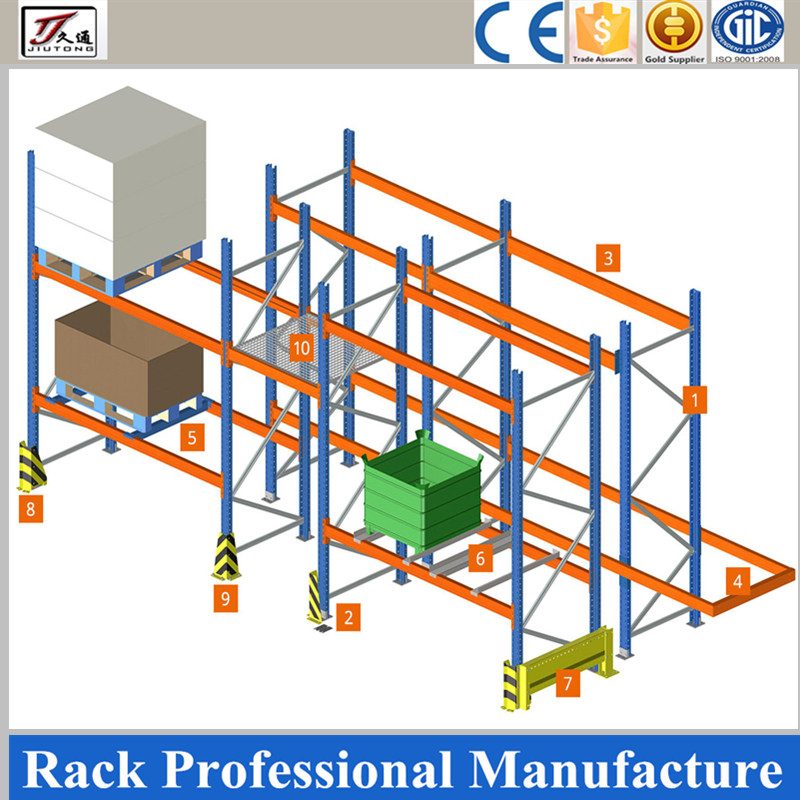Galvanzied selective pallet racking for sale 2017 warehouse storage <strong>rack</strong>