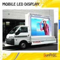 Sunrise Hd Dip/smd P8, P10 mobile Led Display Screen/ Led Advertising Signs in alibaba electronic products
