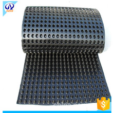 Hot sale black drainage board hdpe dimple sheet for drainage HHY-DZAS-15-15