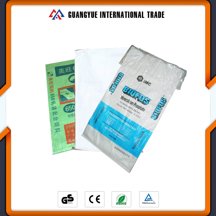 Guangyue Excellent Quality Hot Selling PP Woven Pig Feed Packaging Bags