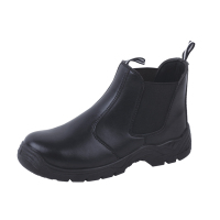 Feet protective genuine buffalo leather work safety shoes CE EN20 345 safety footwear