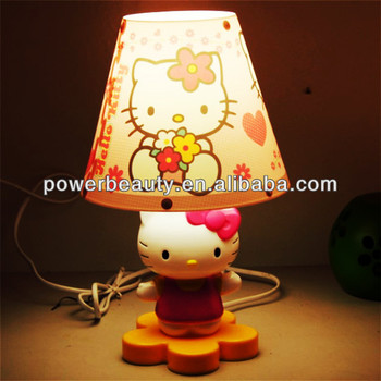 hello kitty table light led plastic table lamp with led bulb