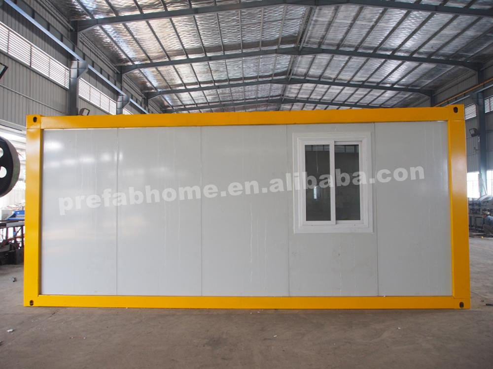 20ft lifting fast assemble flat pack container house for sale