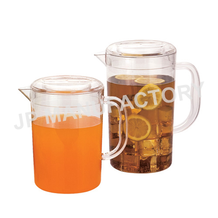 2200ml plastic water pitcher with lid