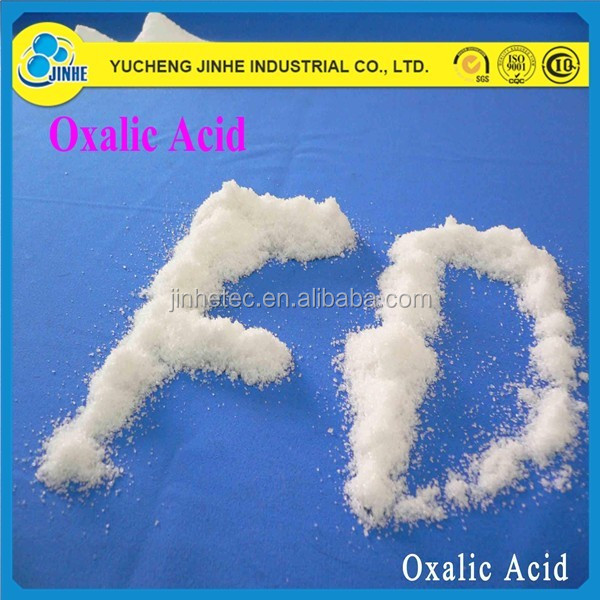 chemical formula of oxalic acid oxalic acid 99.6% used in dyeing/textile/leather manufacturer