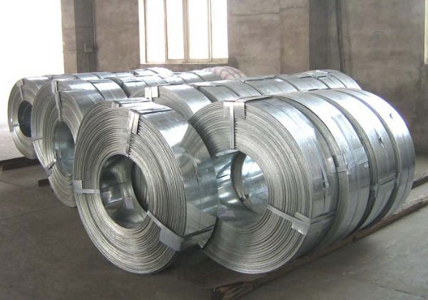 Regular sizes 196*0.3 galvanized steel coils/ roll/ strip/ sheet new goods