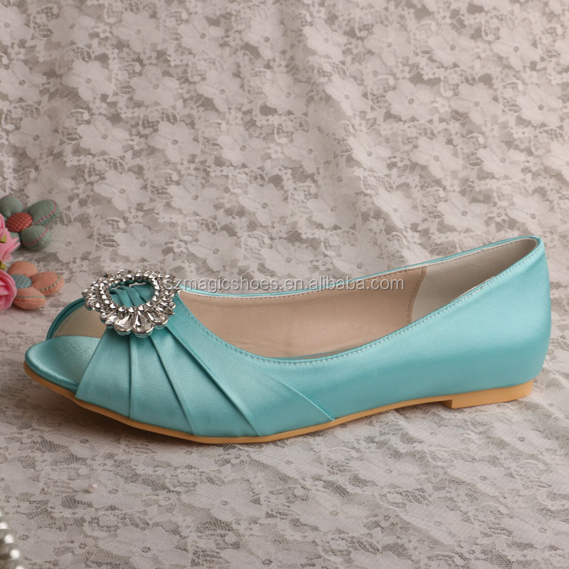 Mint Green Fashion Casual Ballet Flat Shoes for Women