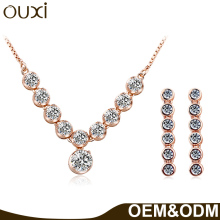 OUXI China alibaba cheap bulk sale sets mk jewelry
