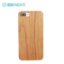Customized Mobile Phone Accessories Natural Cherry Wood Phone Cases for iPhone 7 plus