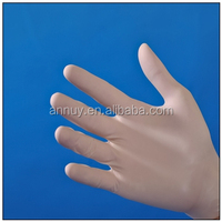 latex surgical gloves with powder and powder free/medical gloves polymer coated or corn starch