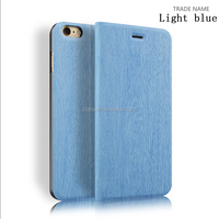 smart cover stand leather for iPhone 6 ,sublimation cell phone cases