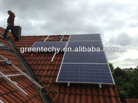 3KW High performance off grid solar system for home with independent enegy supply