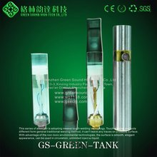 with ROHS CE FCC approval green smoke electronic cigarette with green tank