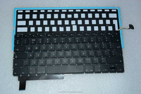 Popular UK Design Laptop keyboard Replacement LED Backlight For Macbook Pro A1286 2009-2012