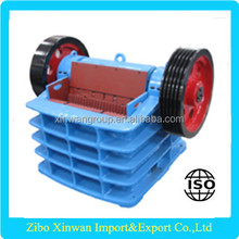 Impact jaw crusher for plastic, stone in competitive price